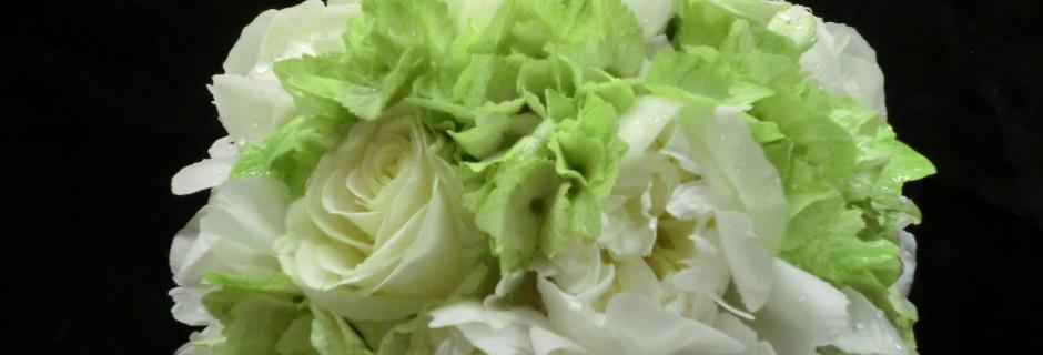 bouquet sposa tondo